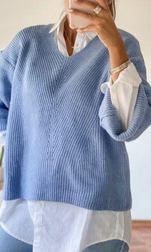 sweater azul