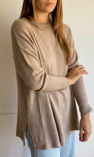 Sweater Básico Beige