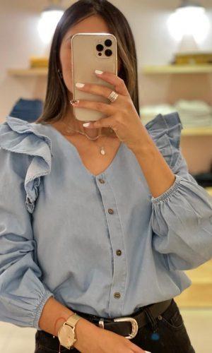 Camisa Jean, clara
