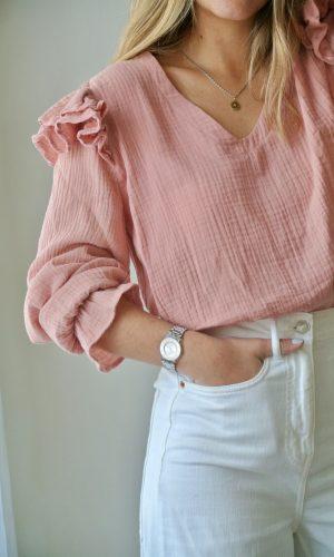 Blusa Capri, rosa